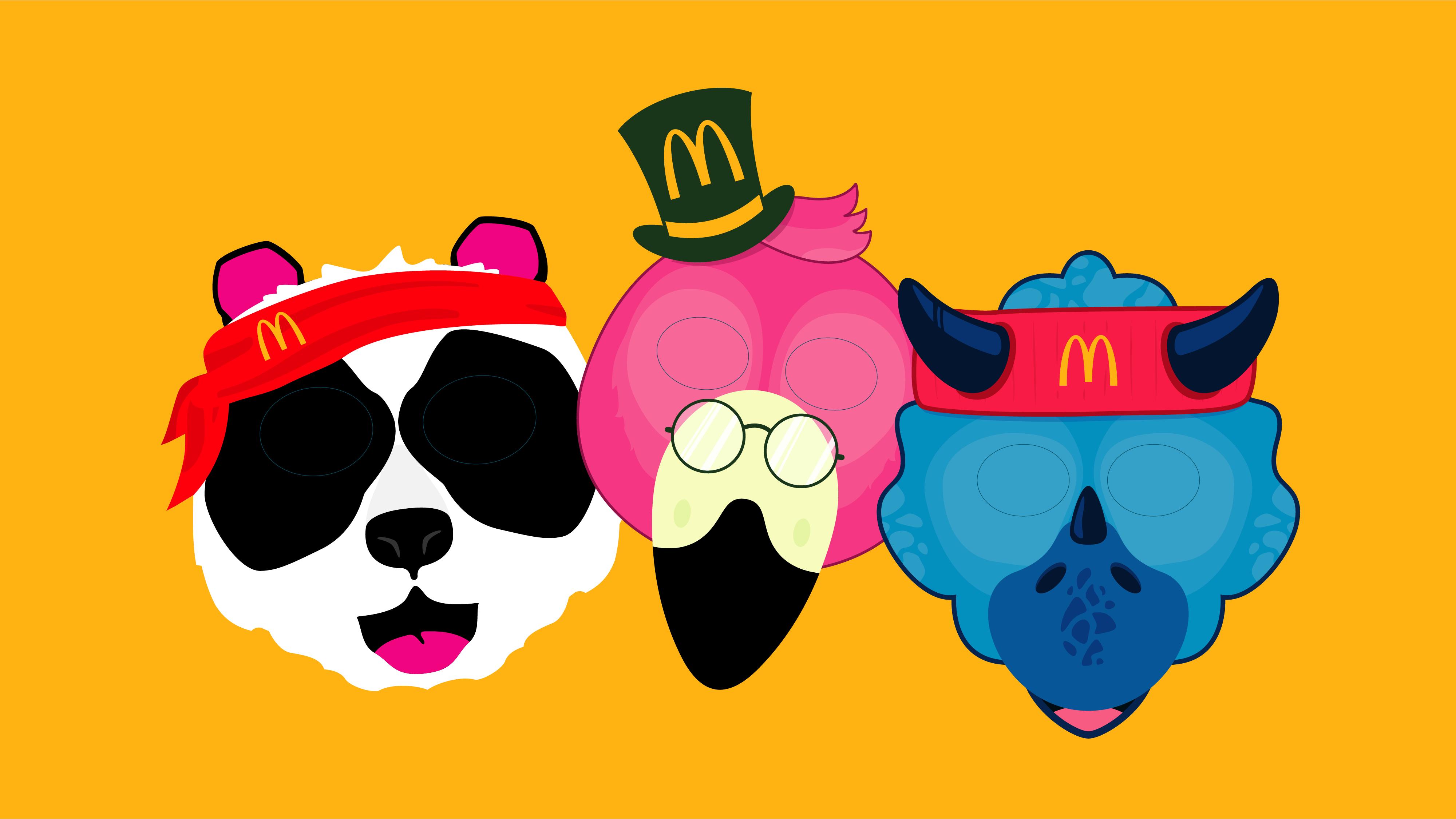 McDonalds - Paper masks